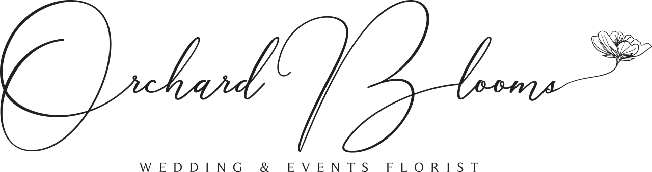 Orchard Blooms florist logo